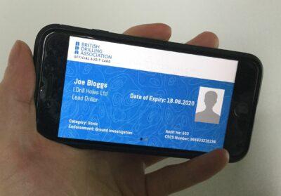 BDA Audit Card on Cardskipper
